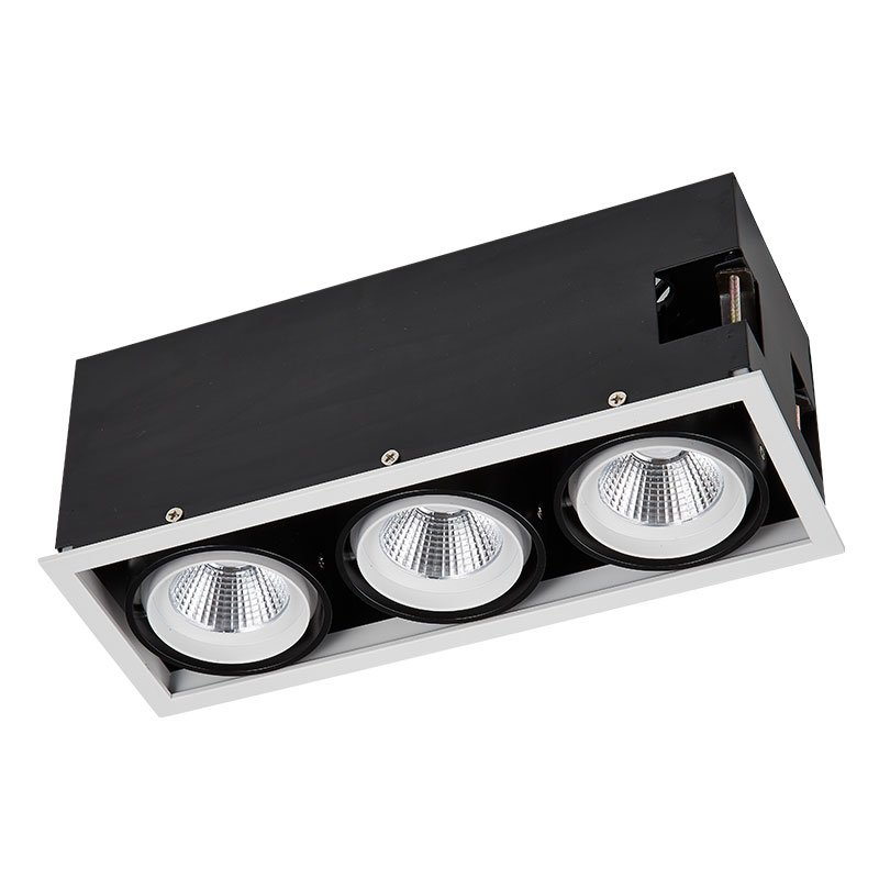 Led grille lamp series 3 lamps