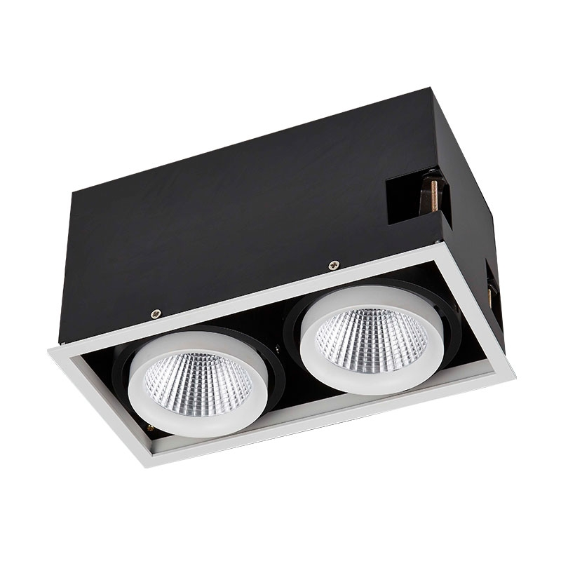 Led grille lamp series 2 lights 18W